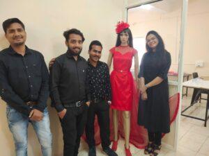 Fashion Designing Institute Students